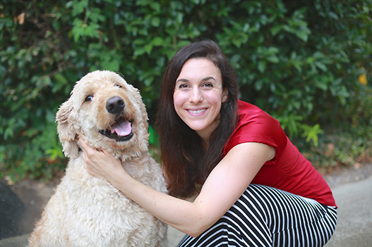 Charley and Johanna: Partners in Animal Assisted Therapy